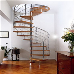 Metal Stairs Winding Staircase Design Modern Spiral Helical Stairway